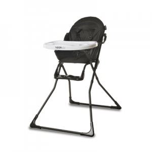 Titaniumbaby iDinner! - Kinderstoel - Zwart