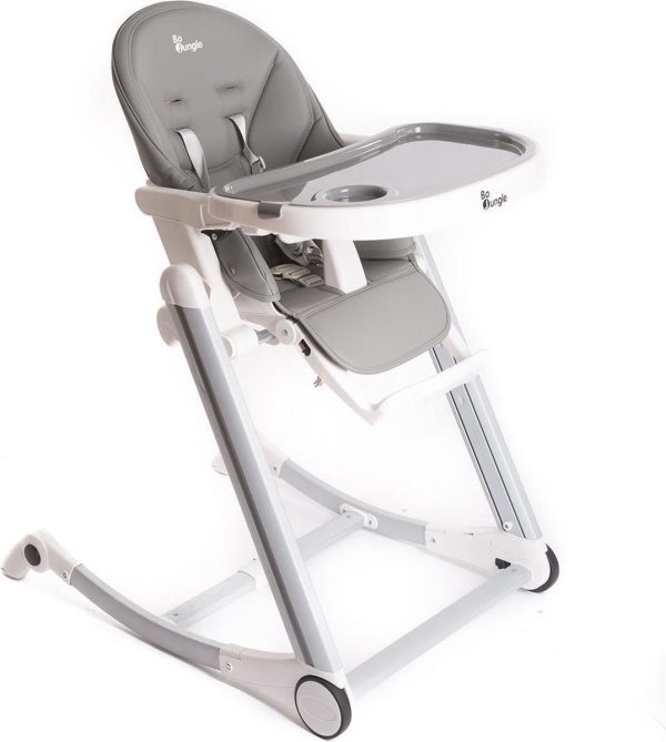 Bo Jungle Kinderstoel B-High Chair Grijs