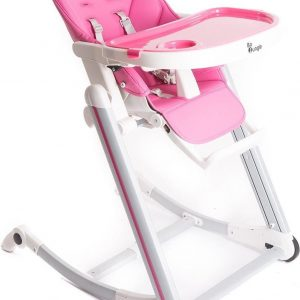 Bo Jungle Kinderstoel B-High - Pink