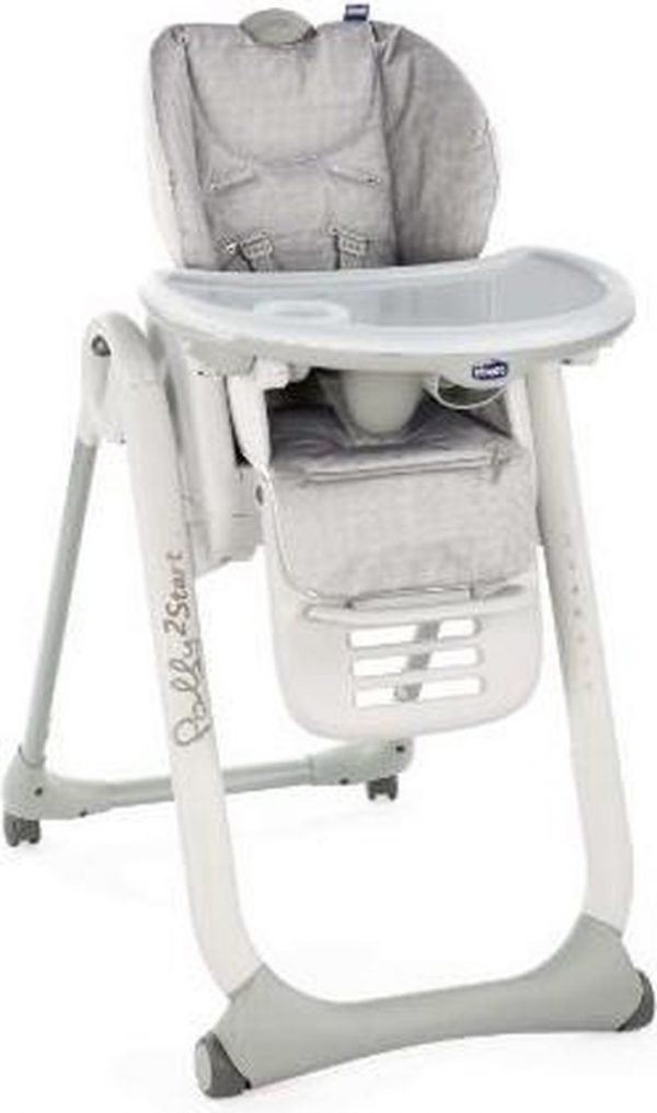 Chicco Polly 2 Start kinderstoel - happy silver