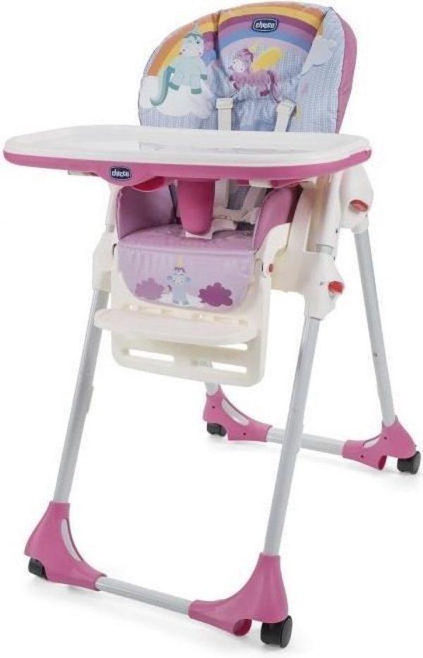 Chicco Polly Easy kinderstoel - eenhoorn