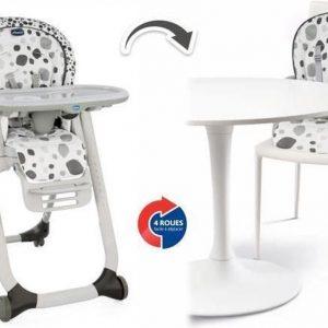Chicco Polly Progres5 kinderstoel - antraciet - omvormbaar naar eetstoel