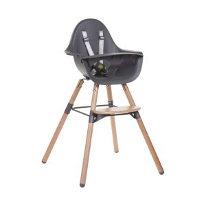 Childhome Evolu 2-in-1 Kinderstoel Naturel / Antraciet