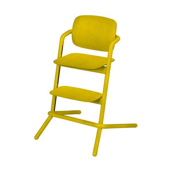 Cybex Lemo Wood Kinderstoel Canary Yellow