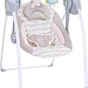 Elektrische babyschommel Chipolino Felicty Birdy, schommelstoel