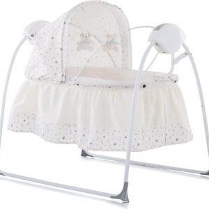 Elektrische babyschommel chipolino Rock a Bye ivoor de 2 in 1 schommelstoel!