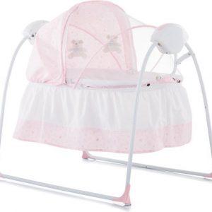 Elektrische babyschommel chipolino Rock a Bye roze de 2 in 1 schommelstoel!