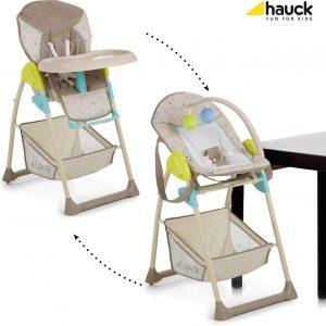 Hauck Sit'n Relax Kinderstoel - Multi Dots sand