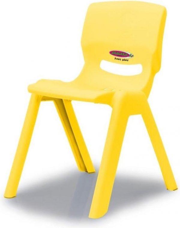 Jamara Kinderstoel Smiley Geel