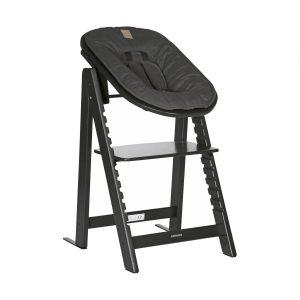 Kidsmill Up! Kinderstoel incl. Babyset + Newbornset Zwart