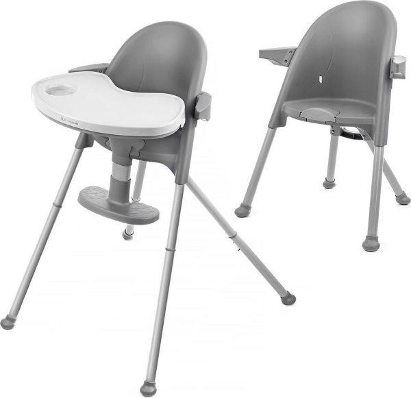 Kinderkraft Kinderstoel 2 in 1 Pini Grijs
