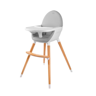 Kinderkraft Kinderstoel Fini grijs