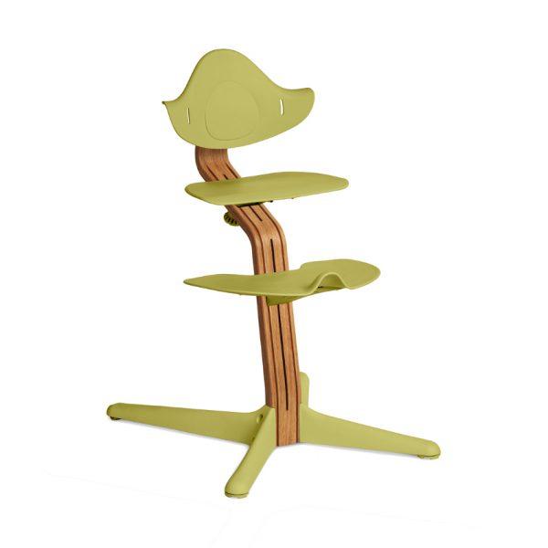 Nomi Nature Kinderstoel Lime