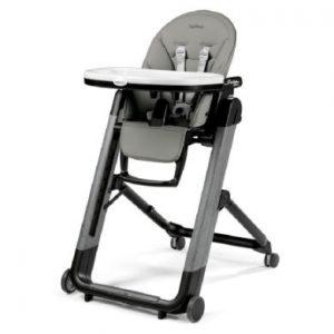 Peg-Pérego Kinderstoel Siesta Follow Me Ambiance Grey (imitatieleer)