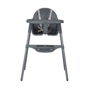 Puck Kinderstoel Mat Grijs