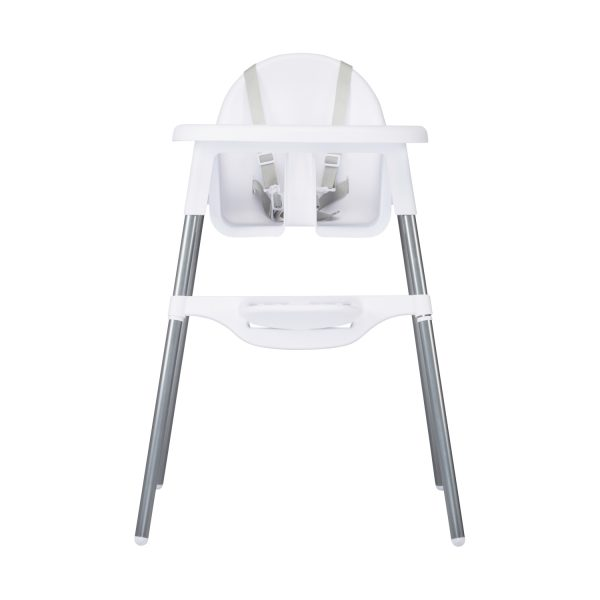Puck Kinderstoel Mat Wit