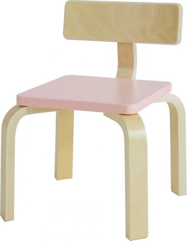 Simpletrade Kinderstoel - Stoel kind - Ergonomisch - Roze - 33x43x33 cm