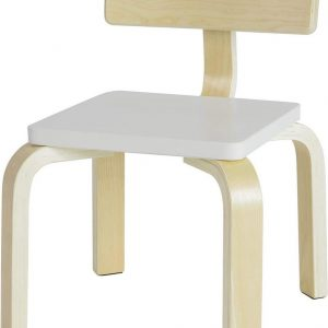 Simpletrade Kinderstoel - Stoel kind - Ergonomisch - Wit - 33x43x33 cm
