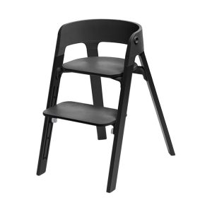 Stokke® Steps™ Kinderstoel Black - Black Oak