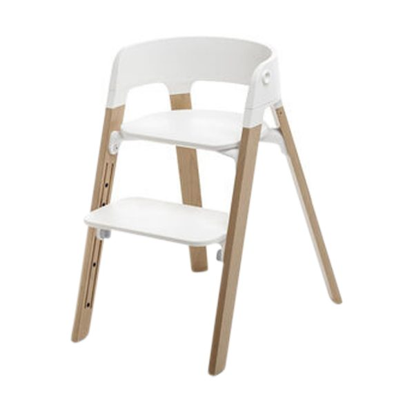Stokke® Steps™ Kinderstoel White Natural Oak