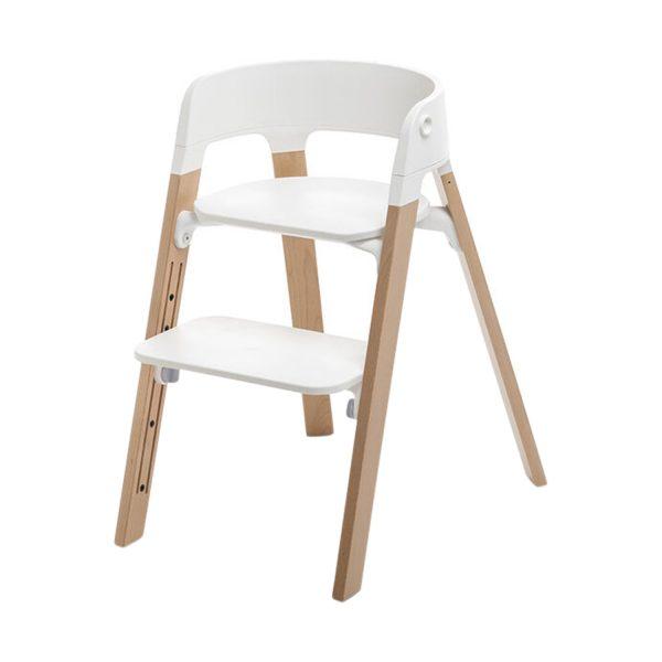Stokke® Steps™ Kinderstoel White Naturel