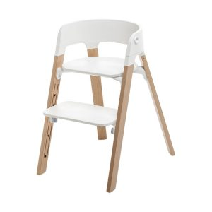 Stokke® Steps™ Kinderstoel White Naturel