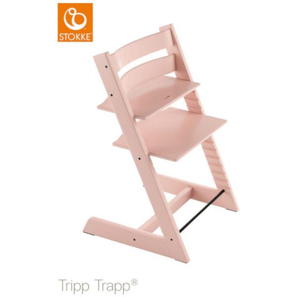 Stokke® Tripp Trapp® Serene Pink Kinderstoel