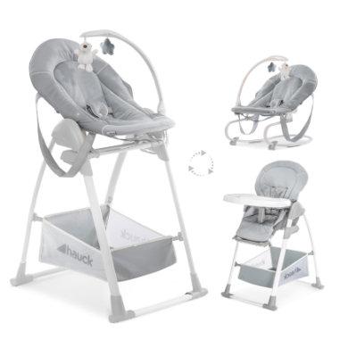 hauck Kinderstoel Sit'n Relax 3 in 1 Stretch Grey