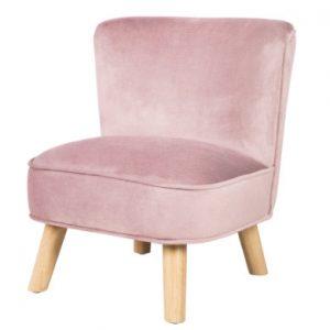 roba Kinderstoel fluweel, roze