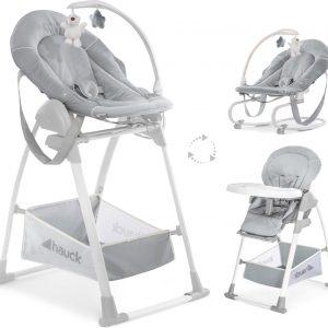Hauck Sit N Relax 3 in 1 Kinderstoel - Stretch Grey