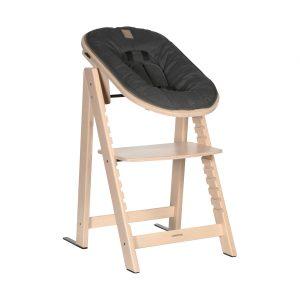 Kidsmill Up! Kinderstoel incl. Babyset + Newbornset Naturel
