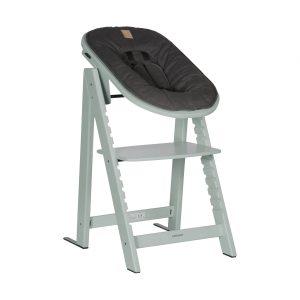 Kidsmill Up! Kinderstoel incl. Babyset + Newbornset Stone Green