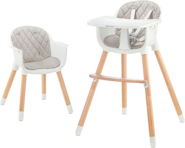 Kinderkraft Kinderstoel 2 in 1 Sienna Grijs