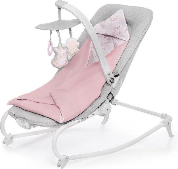 Kinderkraft Wipstoel - schommelstoel Felio Peony Rose