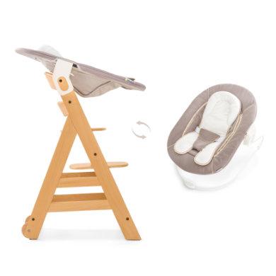 hauck Kinderstoel Beta Plus inclusief wipstoel 2in1 stretch beige
