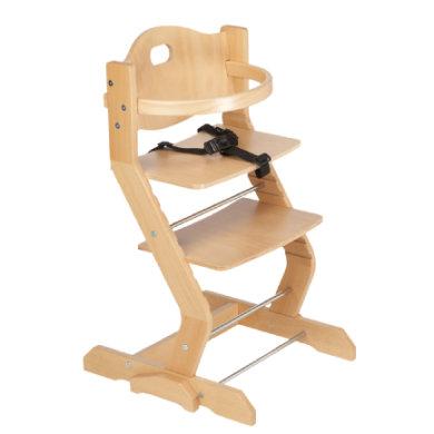 tiSsi® Kinderstoel met borstbeugel naturel