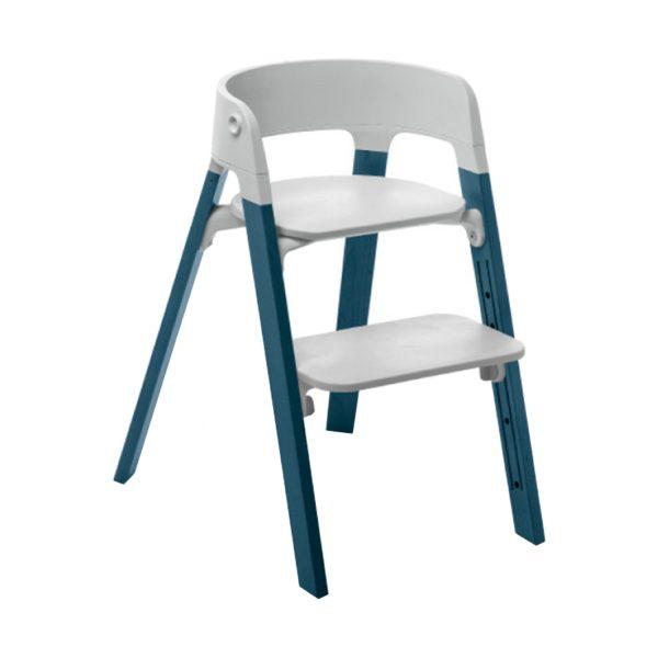 Stokke® Steps™ Kinderstoel Grey - Midnight Blue