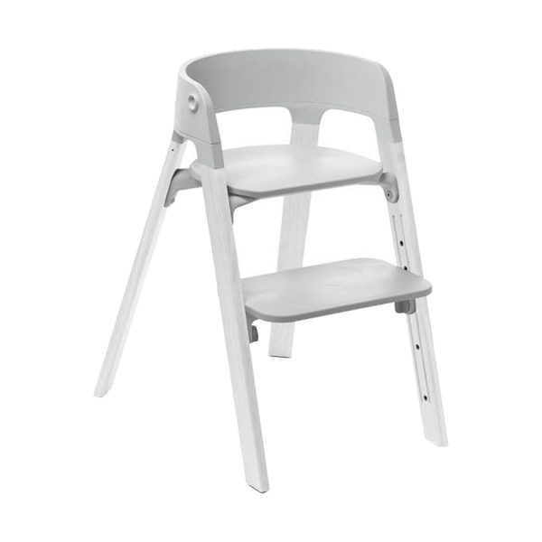 Stokke® Steps™ Kinderstoel Grey - White