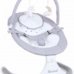Baninni Baby Swing - Babyschommel - Wipstoel - Rubia - Lichtgrijs