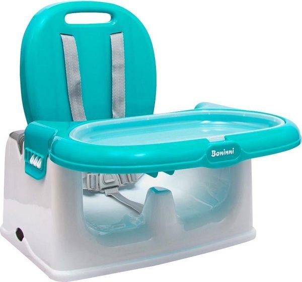 Baninni Yami Luxe Stoelverhoger - Booster Seat met eetblad Blue