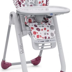 Chicco Polly Progres5 kinderstoel - cherry