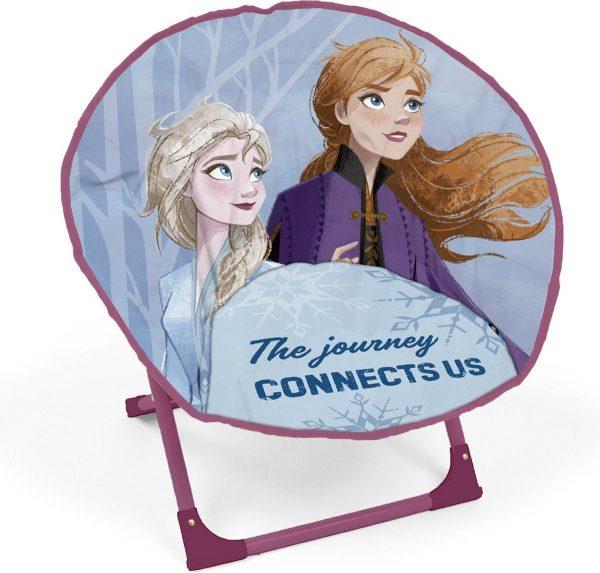 Disney Frozen 2 Kinderstoel 53 X 56 X 43 Cm Blauw/paars