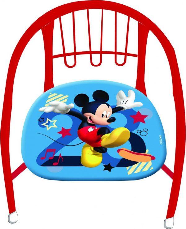 Disney Kinderstoel Micky Mouse 36 X 35 X 36 Cm Rood/blauw