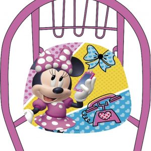 Disney Kinderstoel Minnie Mouse 36 X 35 X 36 Cm Roze