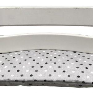 Geplastificeerd zitkussen voor de Tripp Trapp kinderstoel van Stokke - Confetti grijs