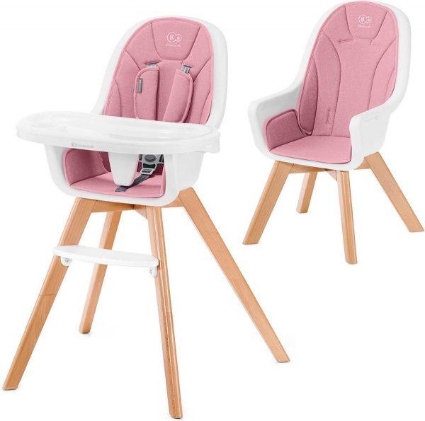 Kinderkraft Kinderstoel 2 in 1 Tixi Pink