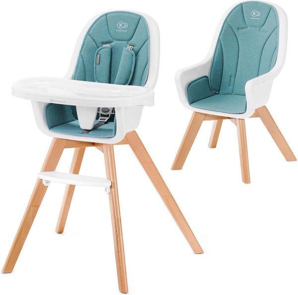 Kinderkraft Kinderstoel 2 in 1 Tixi Turquoise