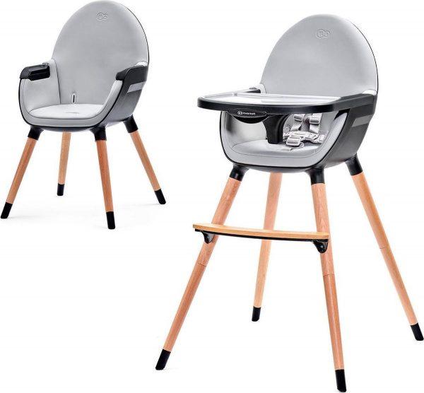 Kinderkraft Kinderstoel FINI - zwart