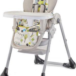 Kinderkraft Kinderstoel Yummy UP Green Tree - Eetstoel voor kinderen
