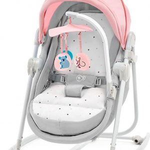 Kinderkraft Unimo 5in1 Wieg - Wipstoel - Schommelstoel Pink